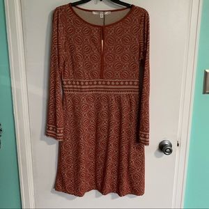 NWT Studio M along Sleeve Dress